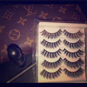 "Gorgeous 3D Faux Mink Eyelashes ""Diva"""